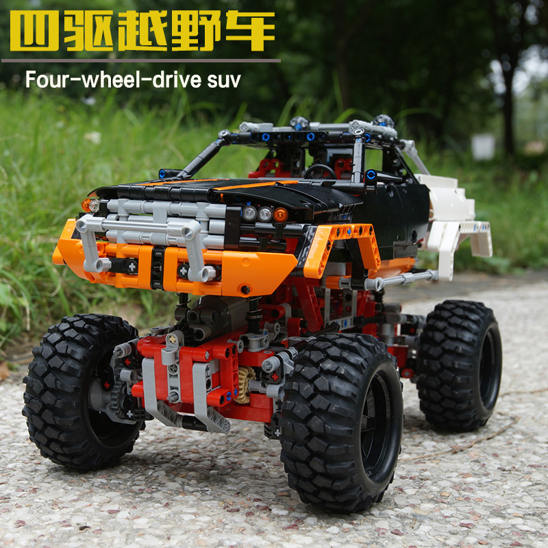 Lepin 20014 4x4 Crawler building bricks Toys for children Game Model Car Gift Compatible with Decool Bela 9398 dayan gem vi cube speed puzzle magic cubes educational game toys gift for children kids grownups