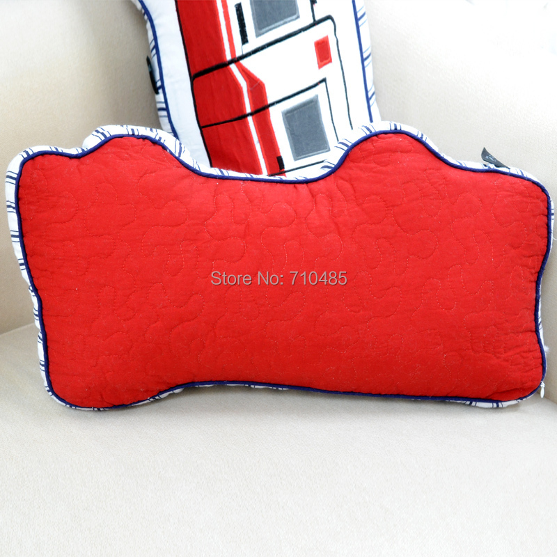 Free Shipping American Style Cynthia Rowley Fire Truck Shaped Simple Cynthia Rowley Decorative Pillows
