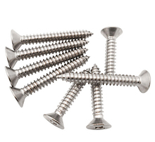 100pcs M1 M2 304 Stainless Metal Steel Countersunk Head Phillips Self Tapping Screws/Phillips Flat Self Tapping Head Screw