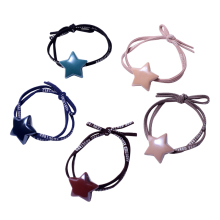 Get more info on the 5pcs Hair Bands for Hair Styling Elastic Hair Holder Ties Kids Girls Women Braiding Hairband Color Rubber Bands with Heart Pearl