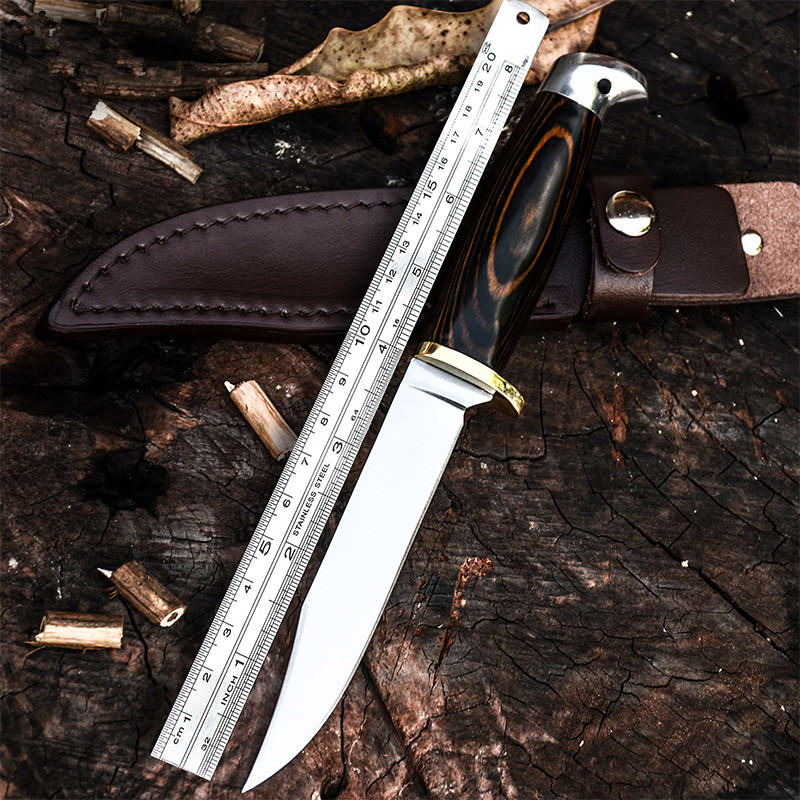 TOP BOWIE KNIFE OUTDOORS Army Hunting KNIFES Fighting Fixed-Blade TACTICAL COMBAT Knives Wilderness Survival Camping ToolsTOP BOWIE KNIFE OUTDOORS Army Hunting KNIFES Fighting Fixed-Blade TACTICAL COMBAT Knives Wilderness Survival Camping Tools
