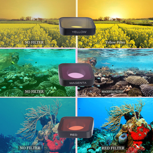 Image 2 - CAENBOO Sport Camera CPL Polar UV Filter Waterproof Outdoor Glass Underwater Diving For Gopro Hero 2018/6/5 Black Go pro Hero5/6