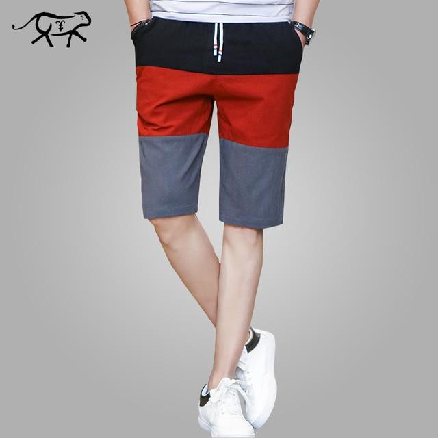 99b5334816014 Calções de marca Homens Moda Curto Homens Casual Metade dos homens Shorts de  Algodão Shorts Da