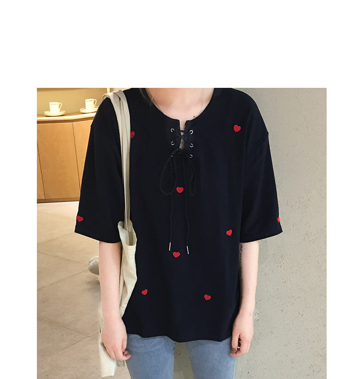 Summer Korean Adorable Loose Shirt