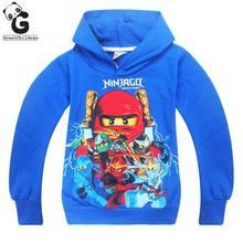 Boys Hoodies Spring Autumn Teenagers Boys Sweatshirts Legoo Ninjago Batman  Long-sleeved T-shirts Sports Tops Baby Girls Hoodies 3e0d1d5b5678