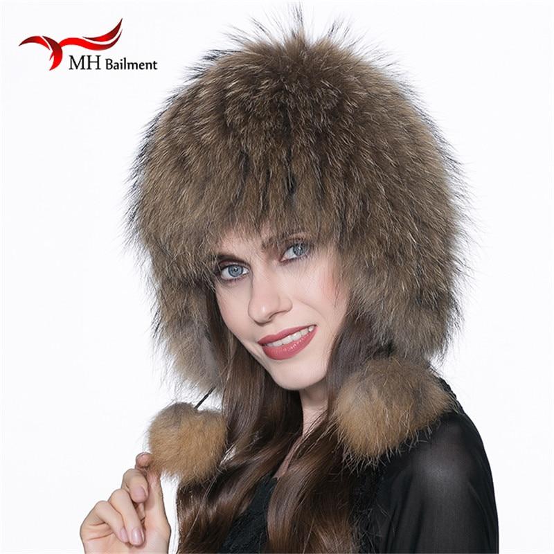 ФОТО Women Real Fox Fur Hat Winter Warm Genuine Fur Hat Fox Fur Hats knitted silver luxury fox fur caps female thick Beanies Hat H#47