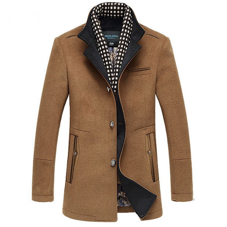 Online Get Cheap Mens Wool Winter Coats Sale -Aliexpress.com