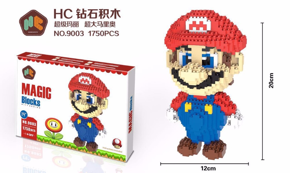 HC Super Mario DIY  Blocks 9003-3