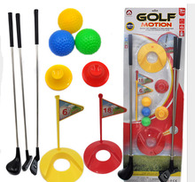 Kids Funny Golf Toys 12Pcs/Set Children Boys Indoor Outdoor Mini Golf Sport Toys Educational Interactive Ball Toys Gift