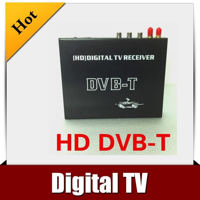 IN CAR DVB-T MPEG-4 DIGITAL TU TUNER Receiver free shipping