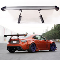 Car styling carbon fiber black Material G Style GT 86 BRZ Rear Trunk wing spoiler For Subaru BRZ Toyota 86 GT86