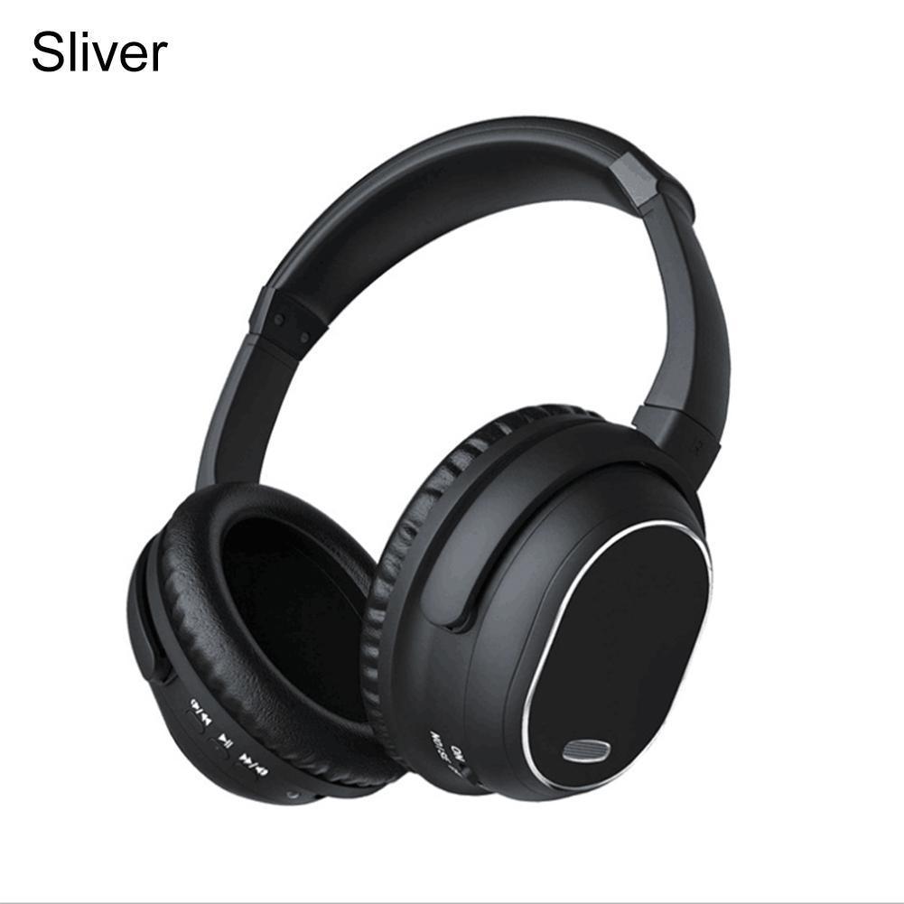 Active Noise Cancelling Bluetooth Hoofdtelefoon Met Mic Over Ear Draadloze Stereo Headset HiFi Diepe Bas Voor Werk Reizen TV PC telefoon - 3