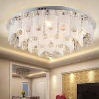 Oświetlenie LED Lampy sufitowe Salon Atmosfera Cały Luksus Kryształ Światła LU728303 Lobby Nowoczesne Proste Kryształ Światła