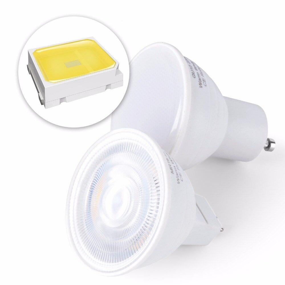 Image 3 - GU10 Led Lamp 220V Spotlight Led Bulb MR16 Lamp Corn Bulb 5W 7W Bulb 2835SMD Lampada Led gu 10 Halogen GU5.3 Spot Light For Home-in LED Bulbs & Tubes from Lights & Lighting
