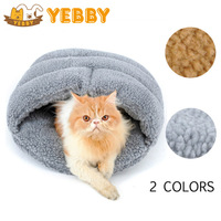 Cosy Warm Comfortable Cat Snuggle Bag Sack Bed Soft Thick Small Dog Pet Sleeping Cave
