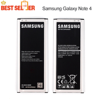2016 High Quality 100 Original Phone Battery For Samsung GALAXY NOTE4 NOTE 4 N910a N910u N910F