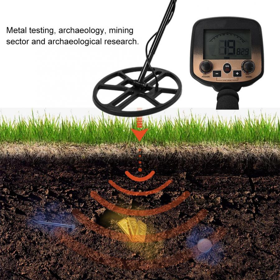 MD980 Underground Metal Detector Treasure Hunter Gold Handheld Detection Waterproof  2019(China)