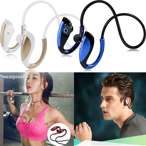 Neckband Bluetooth Headset Wirless Headphone HD Sweatproof Stereo Earphone Sport Earpiece For Samsung S9 S8 S7 LG iPhone X 8 7 6 original remax neckband sport earphone s8 wireless bluetooth headset bluetooth 4 0 magnet earphone for iphone x 8 samsung xiaomi