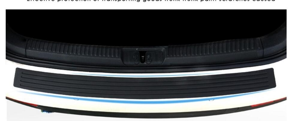 Car Rear Protective Rubber Bumper trim Suitable For volkswagen,bmw, nissan, skoda,mazda, car styling
