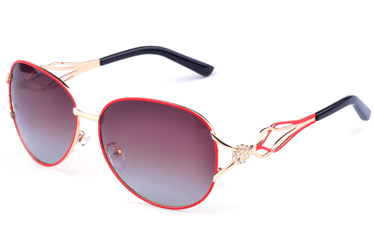 High Quality Women Sunglasses 2017 Fashion lady Polarized Sunglasses Gradient Oval glasses women s font b