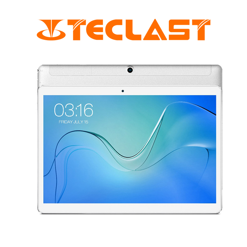 10.1 Inch 1280*800 Teclast P10 4G Tablet PC MTK6737 Quad Core Android 8.1 OS 2GB RAM 16GB ROM GPS LTE Tablet