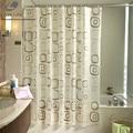 Cortina de banho impermeável Padrão Quadrado Casa cortinas PEVA Cortina de Chuveiro Do Banheiro tecido cortina de chuveiro Frete Grátis 8 Tamanhos