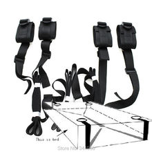 Sex Toys For Couples Adult Games 2016 Erotic Toys Under Bed Restraint Bondage Fetish Sex Products Hand & Ankle Cuff Bdsm Bondage