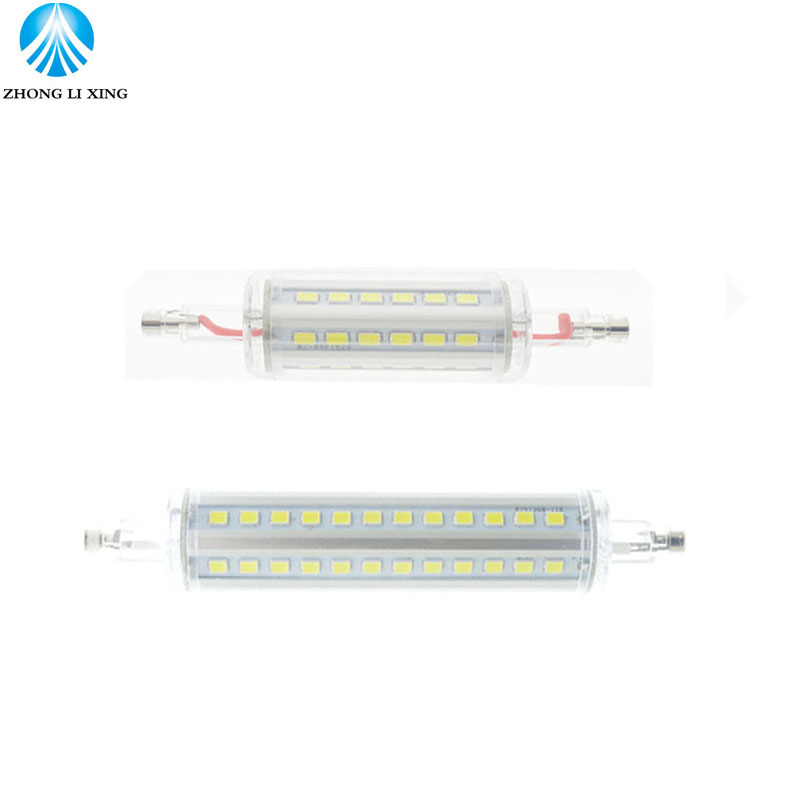 r7s led 15W NO Dimmable 118mm 360 degree 7W 78mm lampadas led r7s bulb J78 J118 replace halogen lamp 25mm diameter rayway dimmable 10w r7s led 118mm 360degree 5w 78mm lampadas led r7s bulb 12w 135mm 15w 189mm replace halogen lamp glass cover