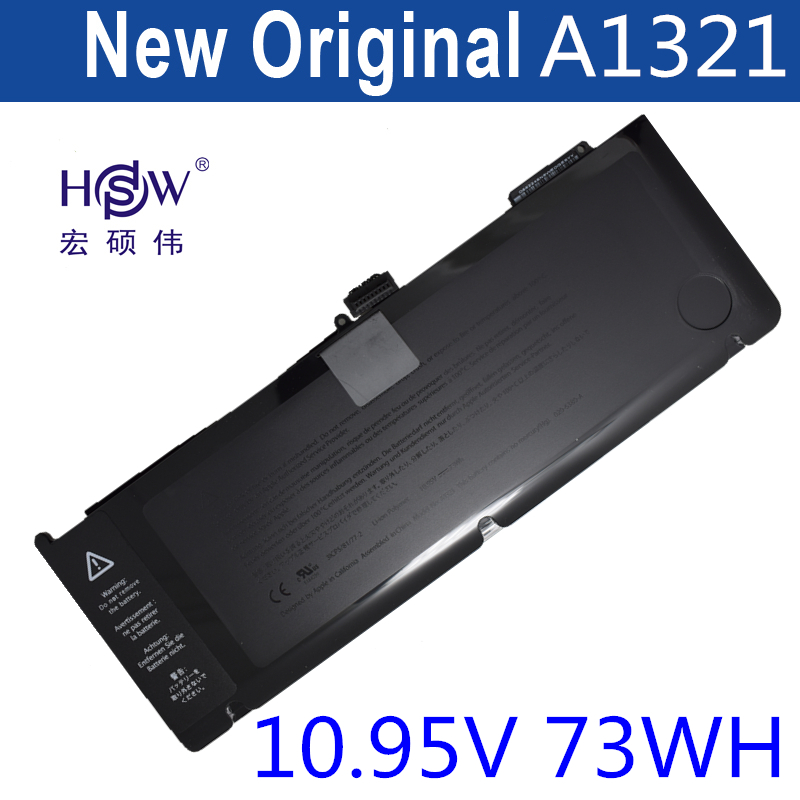 HSW Brand New replacement Laptop Battery A1321 For Apple for Macbook Pro 15 A1286 2009 2010 Version  bateria akku original and new 920 920xl 922 printhead print head for hp 6000 6500 6500a 7000 7500 7500a b109a b110a b209a b210a c410a c510a
