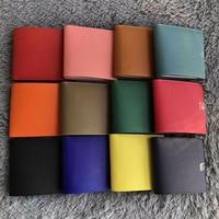 Высокое качество того кожаный женский мужской клатч Короткие Кошельки тонкий длинный кошелек Роскошный Натуральная кожа дизайнерский кош
