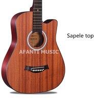 38 дюймов sepele Топ акустическая Гитары из afanti музыка (aal 16117)