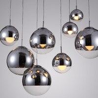 Пост современный Том Диксон расплава Глобус подвесной светодио дный LED нерегулярные искажения подвесной светильник для бара гостиная стол