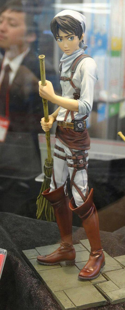 Attack on Titan Anime Figure Eren Jaeger Toys Collectible