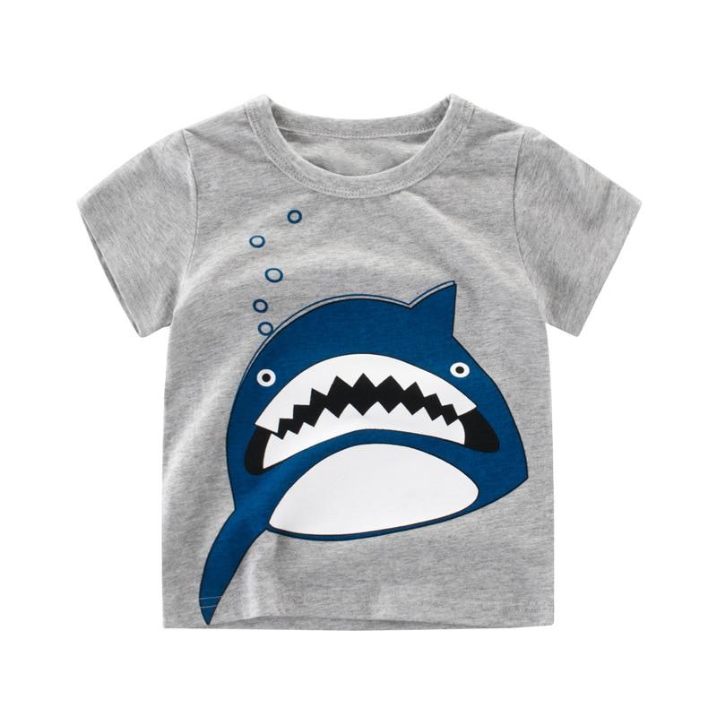 Chidren Clothes Kids T-shirt Beautiful Girl Print 100% Cotton Chid Boy Short T Shirts Baby Girl Top Free Shipping