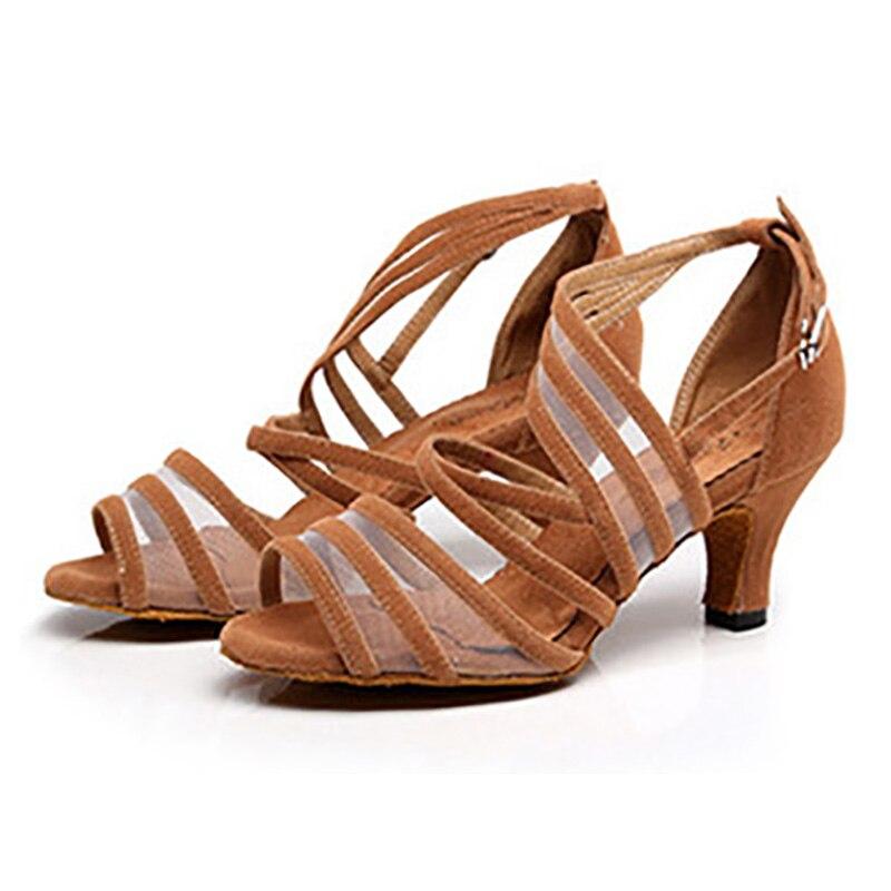 Chaussures Salsa noir USHINE talons hauts 6/7. 5/8. 5 cm rouge Samba Tango Kizomba chaussures de danse latine de salle de bal chaussures femme