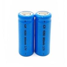 цена на GTF 18350 lithium battery power 3.7v high power 900mAh 18350 power lithium battery For e-cigarette rechargeable Batteries