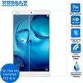 """Paquete de seguridad de vidrio templado protector de pantalla para huawei mediapad 8.4 m3 2.5d película protectora de seguridad para mediapad m2 8.4 """"pulgadas"""
