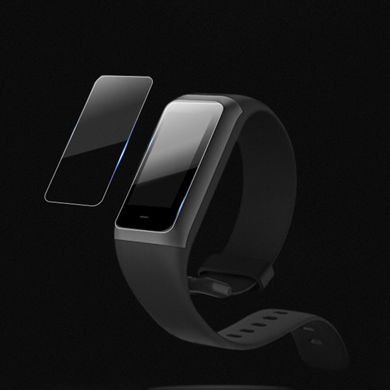 2 Pcs TPU Screen Protector for <font><b>Huami</b></font> <font><b>Amazfit</b></font> <font><b>Cor</b></font> 2 <font><b>MiDong</b></font> Fitness Smart Bracelet HSJ-19 image