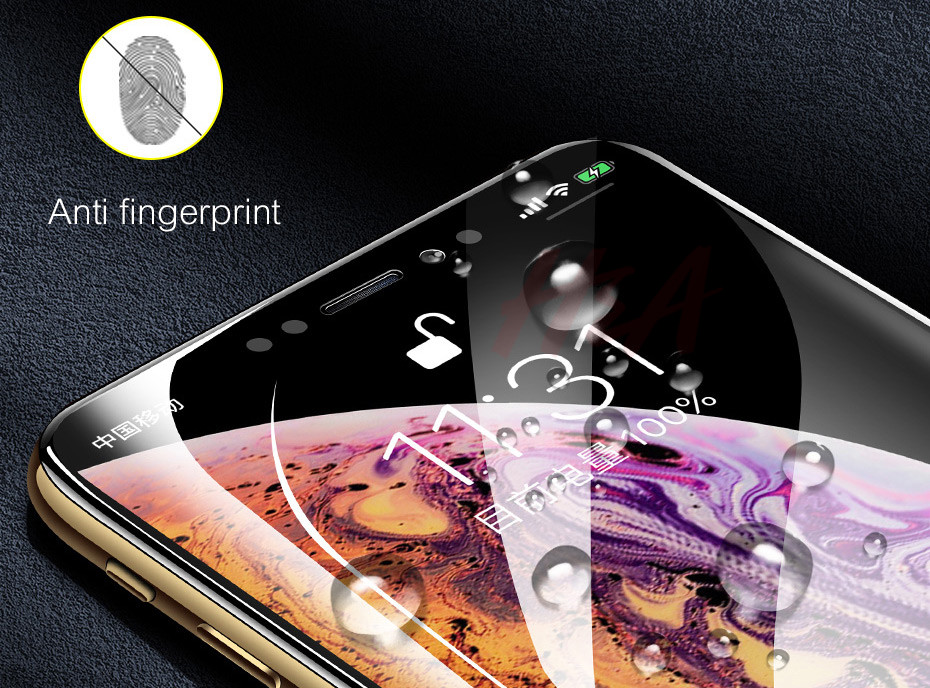 35D Curved Edge Tempered Screen iPhone Protective Glass 11