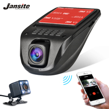 Jansite Car DVR Wifi Car Cameras Full HD 1080P Dash Cam Registrator vehicle Video Record Camcorder Dual Lens Dvr Parking monitor
