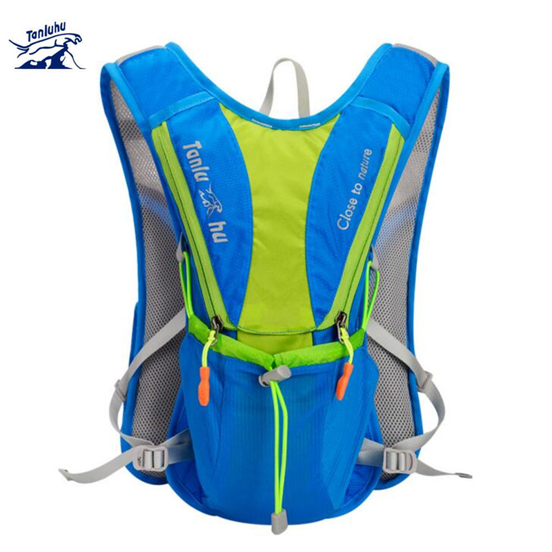 Tanluhu Nylon Outdoor Bags Hiking Backpack Vest Marathon Running Cycling For 2l Water Bag S323
