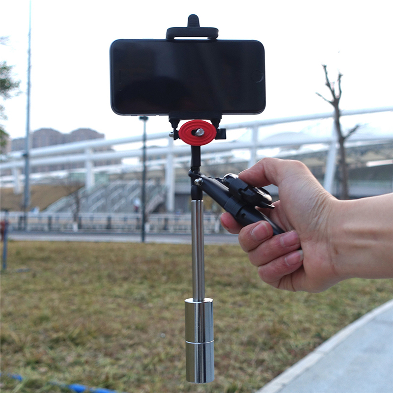 OOTDTY Hand-held Stabilizer Camera Phone Steadicam For GoPro Hero 3 4 5 iPhone7 Samsung