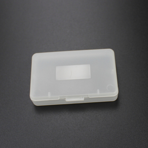 Image 3 - TingDong 20 ピースクリアプラスチックゲームカートリッジケース収納ボックスプロテクターホルダーニンテンドー GBA SP ゲームボーイゲームボーイ GBA