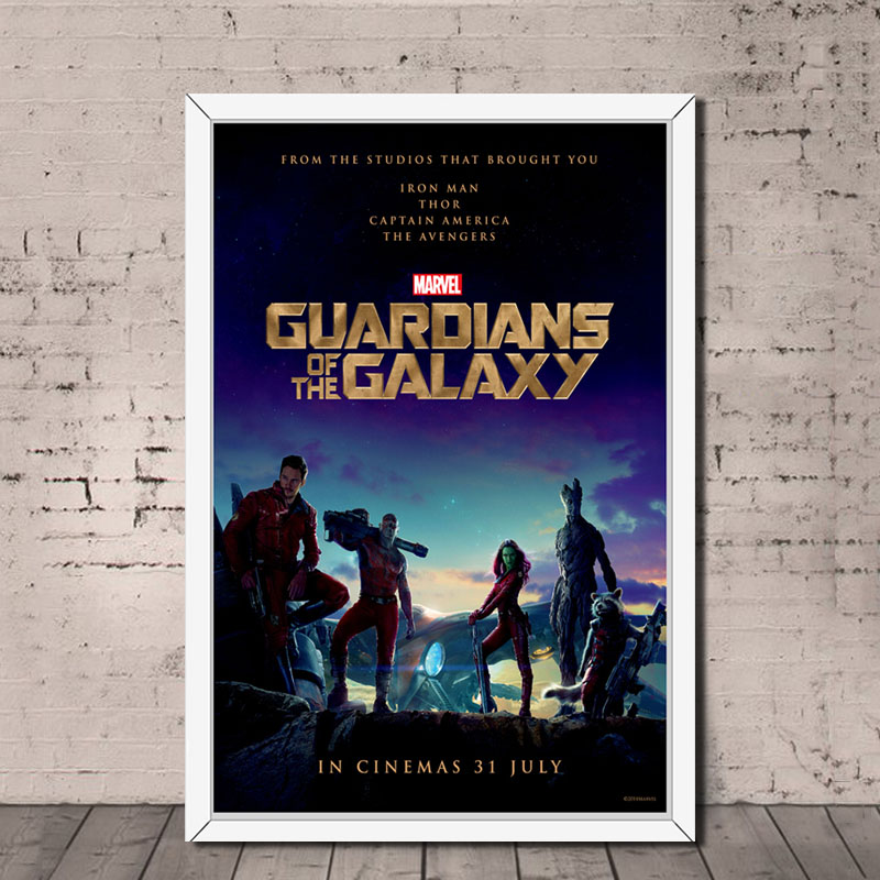 Canvas Picture 20x30Inch Marvel Superheroes Gaurdians Of The Galaxy Comic Book