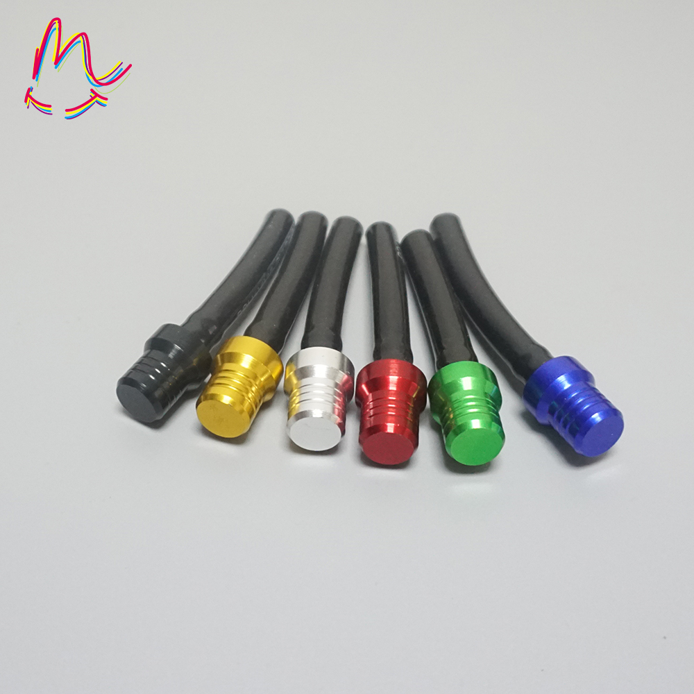 Motorcycle Gas Fuel Cap Tank Valve Vent Breather Hose Tube 6colors For Dirt Bike