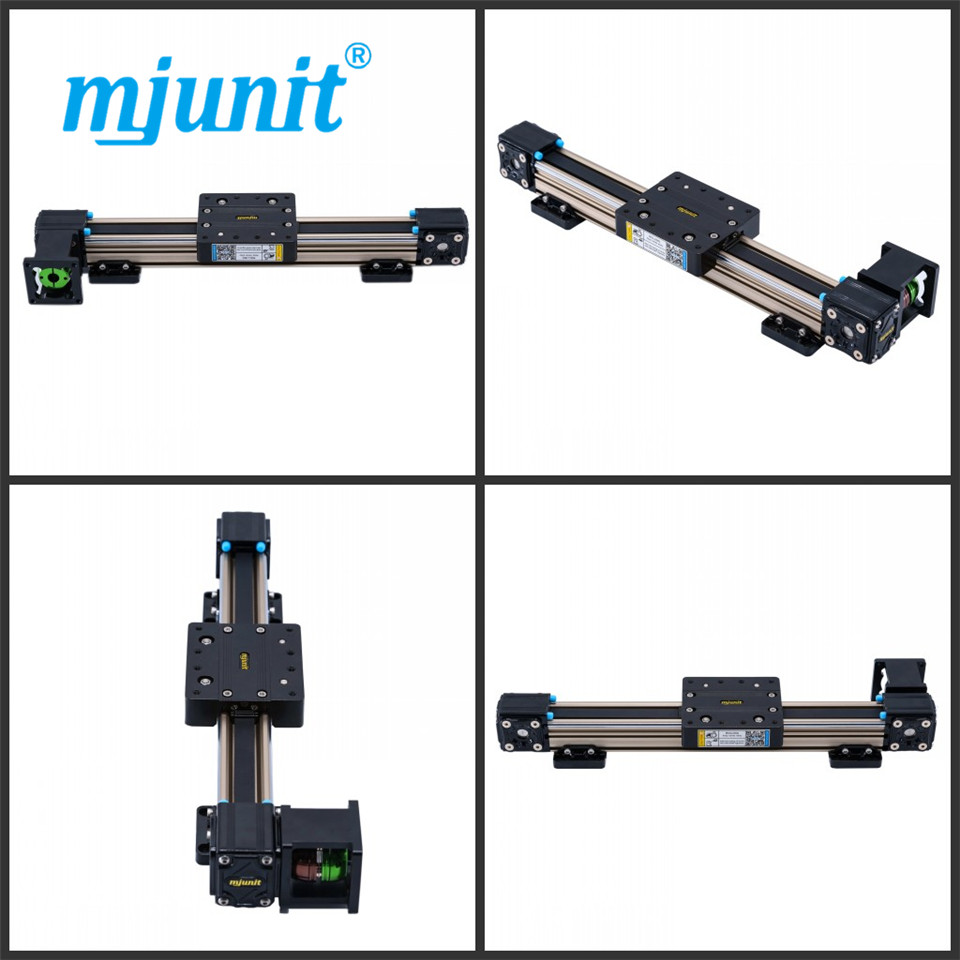 mjunit MJ40 cnc linear motion guide guide rail with 2000mm stroke free shipping fuyu brand belt driven 2000mm stroke linear motion guide rail for printer