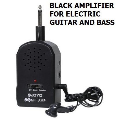 US $29 1 |Free shipping Electric bass Mini portable guitar speaker Electric  Guitar Bass sound amplifier headphone distorted effect headset-in Electric