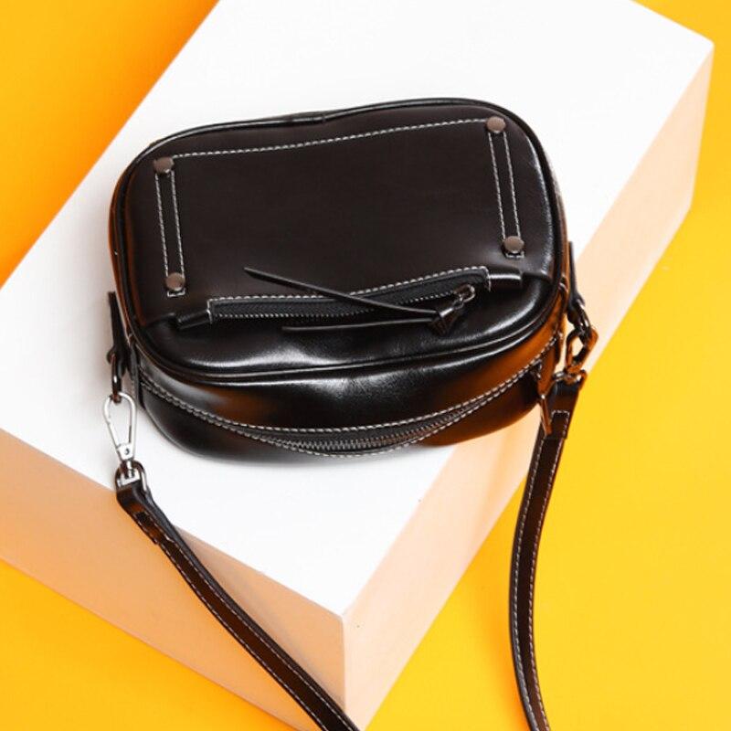 Women genuine leather handbag Women Shoulder Bag For Women 2019 Handbags Women Famous Brands Ladies Hand