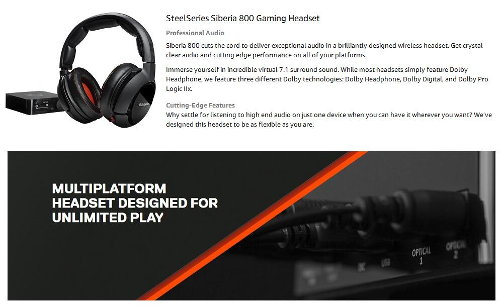 59a40a24d67 Detail Feedback Questions about Steelseries Headphone Headset ...