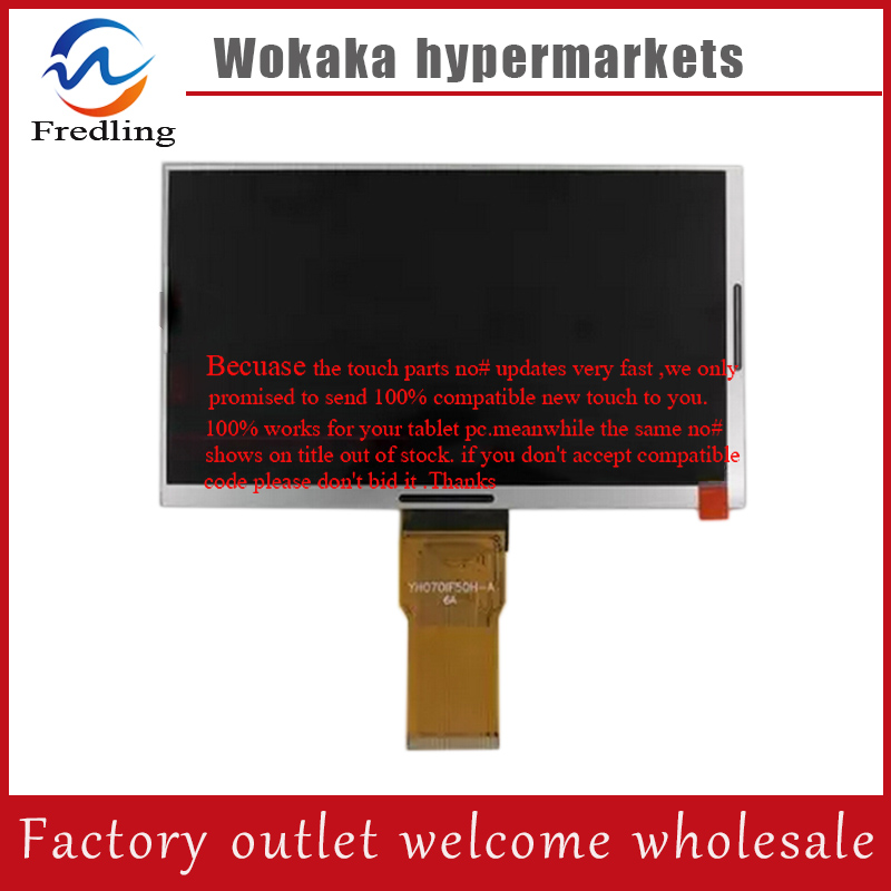 New 7 inch TABLET Digma iDsD7 50pin 1026*600 LCD Display Screen Panel 7 inch 50 pin 7300100070 7300101357 lcd screen display screen new